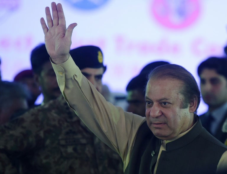 Destitution du Premier ministre Nawaz Sharif — Pakistan