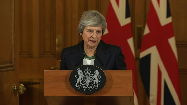 Brexit  Theresa May exclut l organisation d un second référendum   ©  International pool AFP   - 2f4d0d51401